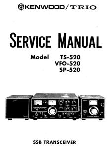Kenwood Trio ts-520 vfo-520 sp-520 Schematic Diagrams