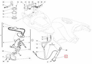 OEM Ducati Multistrada 1000 Fuel Sensor Mounting Flange