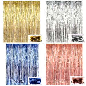 detalles acerca de hoja de oro de 3ft x 9ft flecos cortina telon de fondo fiesta boda fiesta decoracion tan mostrar titulo original