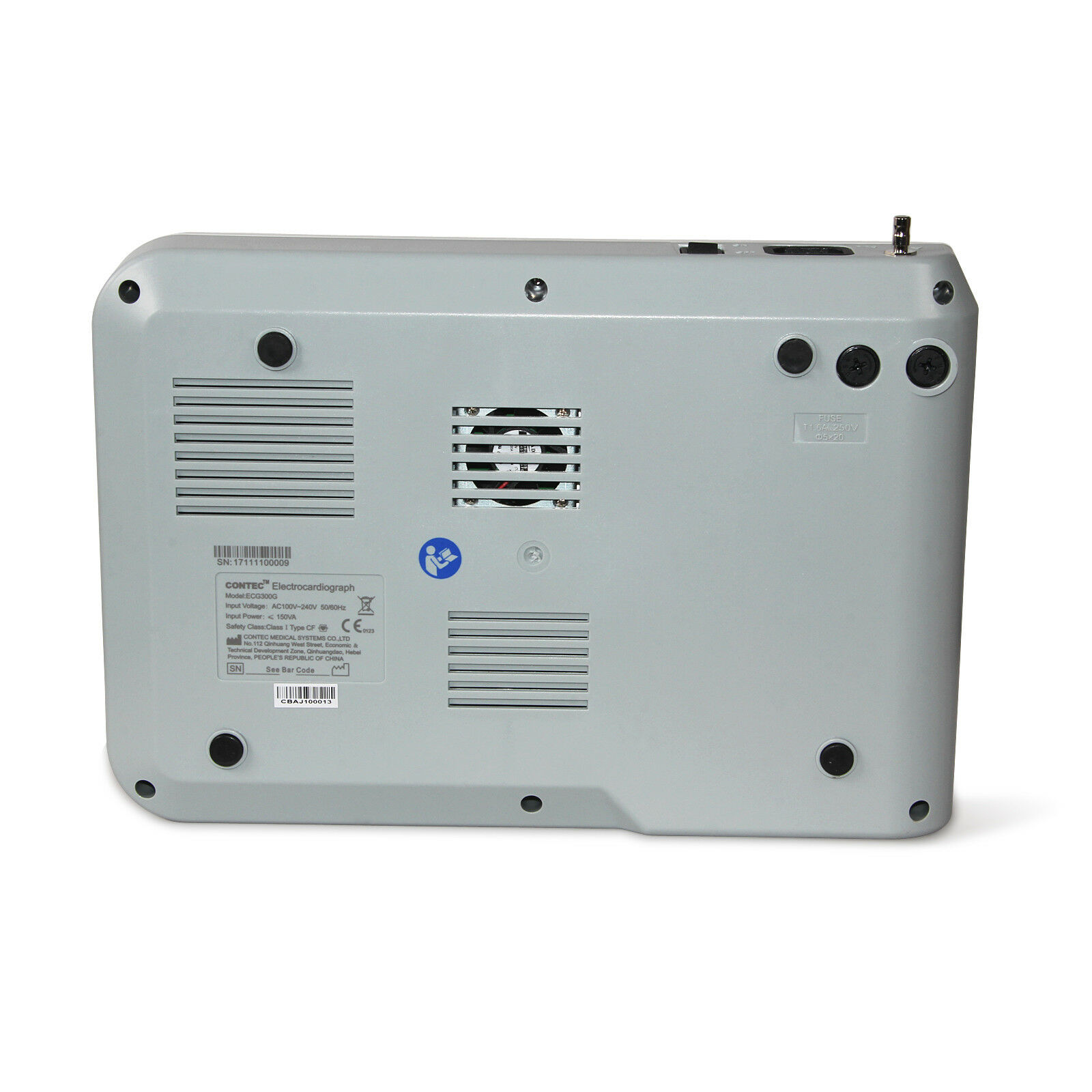 Digital 3 Channel 12 Lead Ecg Ekg Machine Software Electrocardiograph Us Seller