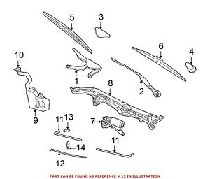 For BMW Genuine Windshield Washer Hose Connector