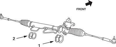 NISMO Steering Gear Mount Bush For Skyline GT-R R32 R33