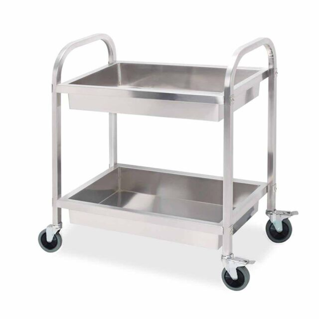 stainless steel kitchen cart faucet sprayer attachment soga trolley 2 tiers dining food tier basin utility small