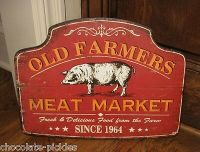 Wooden Vintage Signs collection on eBay!