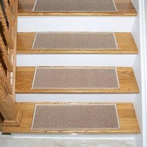 Carpet Stair Treads Non Slip Set Of 7 Step Hardwood Stair Safety | Rug Stair Treads Non Slip | Vinyl Flooring | Skid Resistant | 8.5 X26 | Overstock | Mat