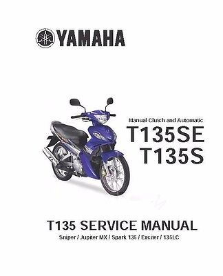 Yamaha owners service manual 2006 T135, T135SE & T135S