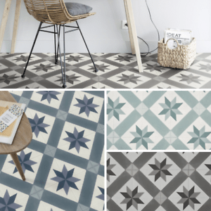 details about spanish tile effect cushioned sheet vinyl flooring kitchen bathroom lino roll