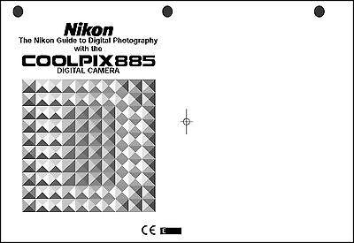 Nikon CoolPix 885 Digital Camera User Guide Instruction
