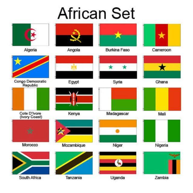african africa 3x5 flag