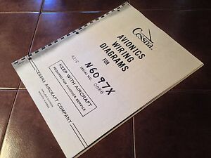 avionics wiring diagrams 2008 chevy impala diagram supplemental for cessna 421c sn 0888 ebay image is loading