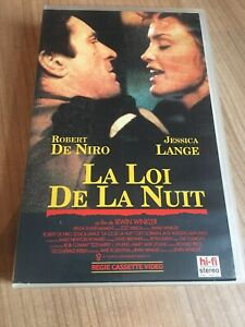 La Loi De La Nuit : Niro,, Jessica, Lange, Cassette, Video, MOVIE