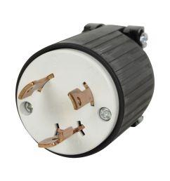 black l5 30p flanged power inlet generator rv plug 125 volt receptacle 30amp for sale online ebay [ 1600 x 1600 Pixel ]