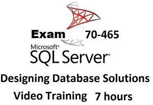 Learning Microsoft MCSE SQL Server 2012 Exam 70-465 Video