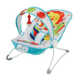 vibrating chair baby wedding covers bradford bouncer seat comfort kick and play fisher price image is loading