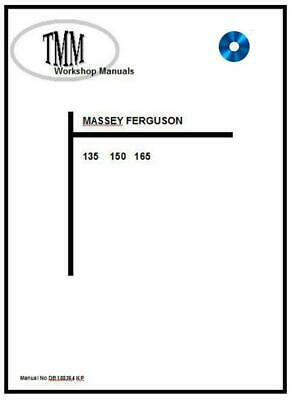 Massey Ferguson TMM 135 150 165 series Workshop Manual