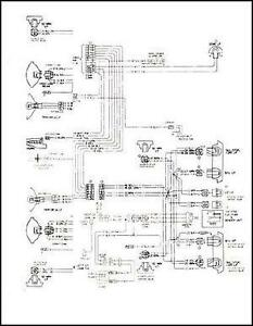mid 1975 Chevy GMC C5 C6 Conventional Wiring Diagram C50