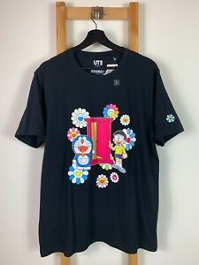 BNWT Uniqlo X Takashi Murakami X Doraemon Large Japan Kaws Domingos.Sundays NYC | eBay