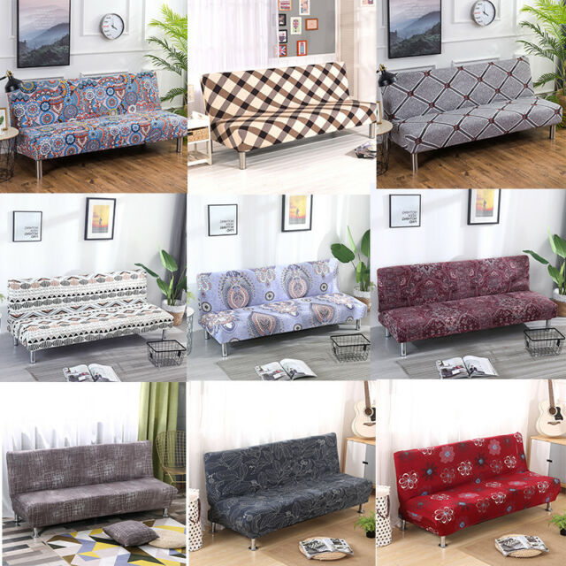 new stretch sofa bed cover folding armless elastic futon slipcover couch cover