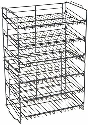 Food Pantry Organization Kitchen Shelves Storage Can Cabinet Wire Spice Rack USA 2