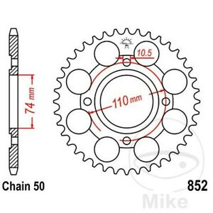 JT Rear Sprocket 41T 530P JTR852.41 Steel Yamaha RD 250 LC