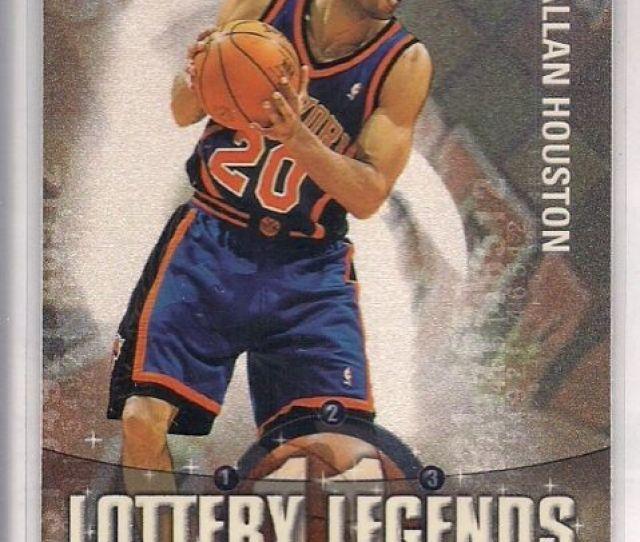 2001 02 Topps Lottery Legends Allan Houston Ll11