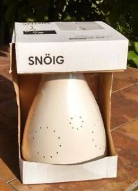 New IKEA SNOIG White Pendant Hanging Ceiling light