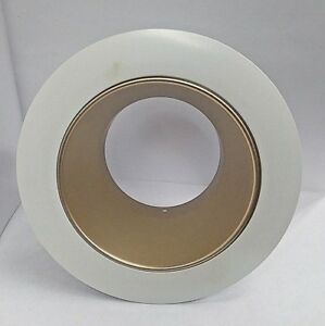 details about new juno lighting 17whz wh 4 recessed trim wheat haze with white trim