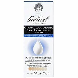 Teatrical Skin Lightening Cream Night Time Dark Spot ...