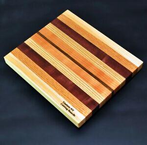 Walnut Maple Purple Heart Cutting Board