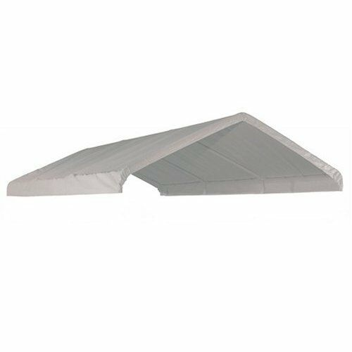 14 Mil Hd Valance Replacement Canopy Tarp Carport Cover For 10 X