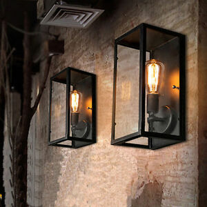 details about vintage wrought iron wall lamp creative personality bar restaurant aisle lights