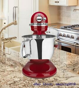 kitchen aid 6000 hd crock kitchenaid professional stand mixer 6 quart empire red image is loading