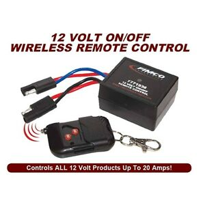 Fimco Industries 12 Volt OnOff Wireless Remote Control
