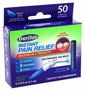 DenTek Adult Instant Pain Relief Kit Maximum Stregnth 50