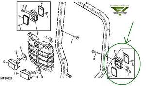 John Deere 3720 4105 4200 4300 4400 4500 Complete LH Tail