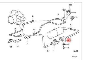 Genuine BMW E31 E36 E38 E39 Fuel Tank Breather Valve