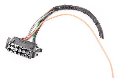 Central Locking Vacuum Pump Wiring Plug Pigtail 00-02 VW