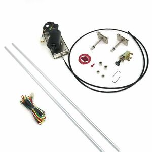Wiper Kit w Wiring Harness socal 12-VOLT for 1955-57 Chevy