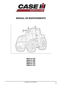 CASE MAGNUM 235 260 290 315 340 TRACTOR SERVICE MANUAL