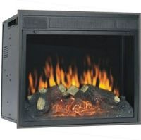 Electric Firebox Insert, Vent free fireplace Glass Front ...