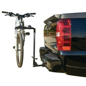 details about new haul master two bike hitch mount rack 1 1 4 inch 2 inch reciever free s h