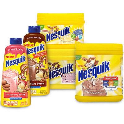Nesquik milkshake mix all flavors (variation listing)   eBay