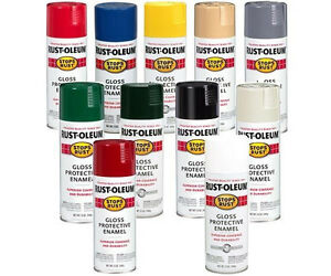 Image Is Loading One 1 Rust Oleum Protective Enamel Spray Paint