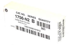 NEW ALLEN BRADLEY 1756-N2 SER. B CARD SLOT FILLER 1756N2