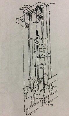 Clark Forklift Brake Diagram : clark, forklift, brake, diagram, 2393972, Clark, Forklift, 3115V1043, Shaft, 34.085