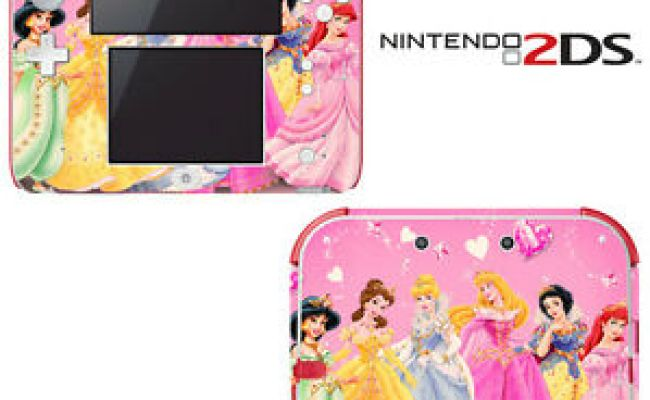 Vinyl Skin Decal Cover For Nintendo 2ds Princess Friends