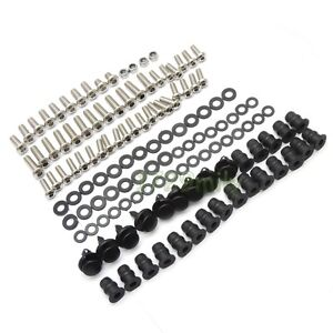Complete Fairing Bolts Kit Screws Set for KAWASAKI Ninja