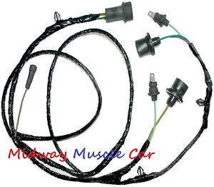 stepside rear body tail light lamp wiring harness Chevy