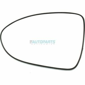 NEW LEFT SIDE MIRROR GLASS WITH BACKING PLATE FITS 2012