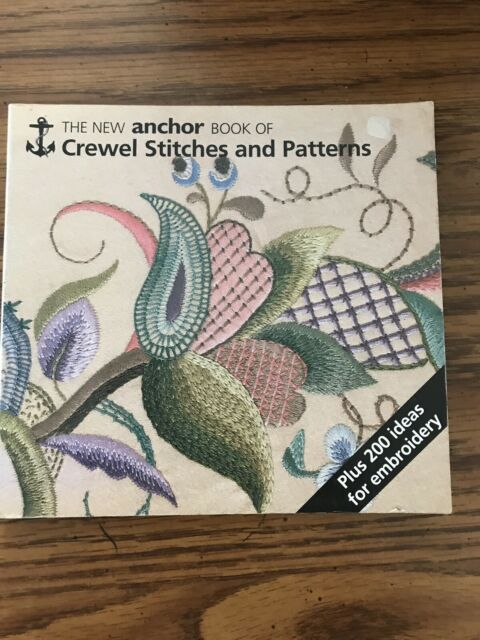 Crewel Stitches : crewel, stitches, Anchor, Crewel, Stitches, Patterns, Harlow, (1989,, Trade, Paperback,, Reprint), Online